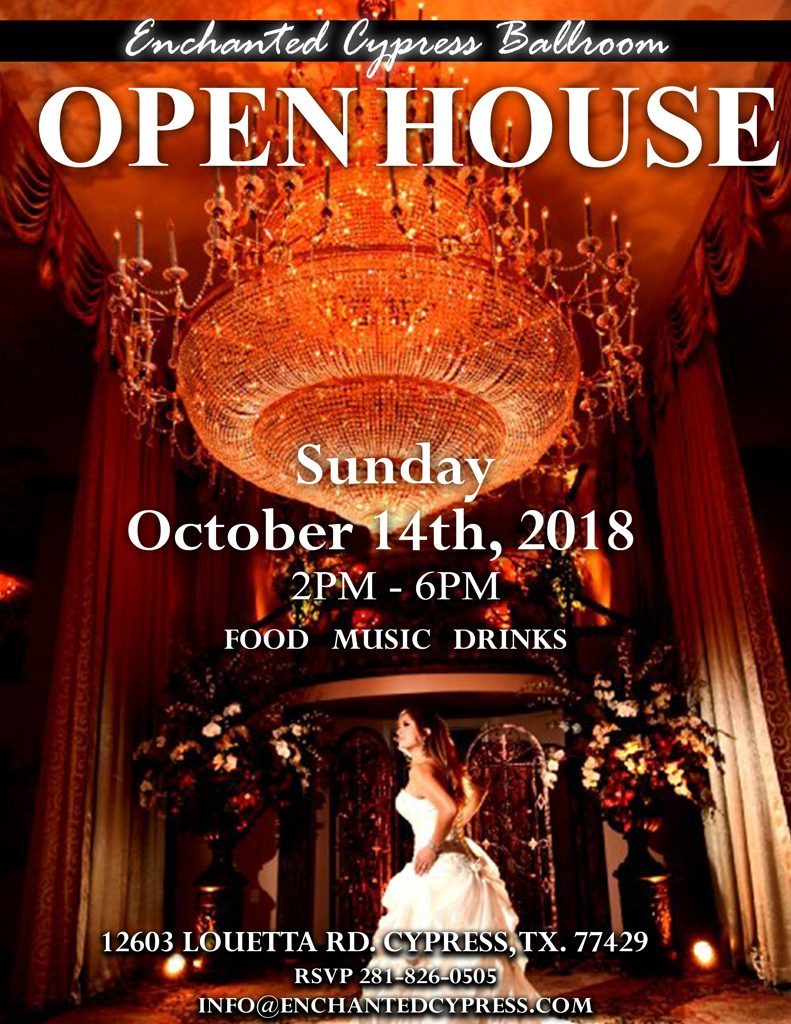 Enchanted Cypress Ballroom Reception Banquet Wedding Halls
